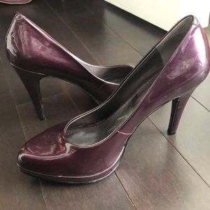 Nine West Patent Leather Heels with Platform